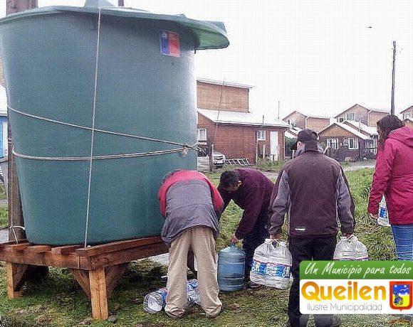 Municipalidad de Queilen lidera gestiones para solucionar situación del agua potable en la zona urbana de la comuna