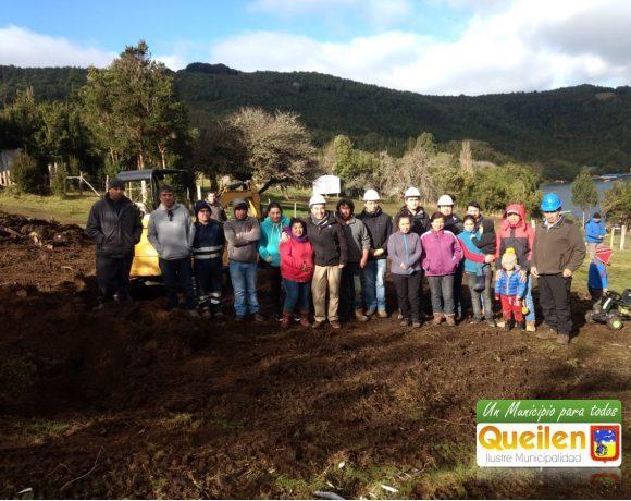 Construcción de la nueva sede social de Leutepu de isla Tranqui es una realidad