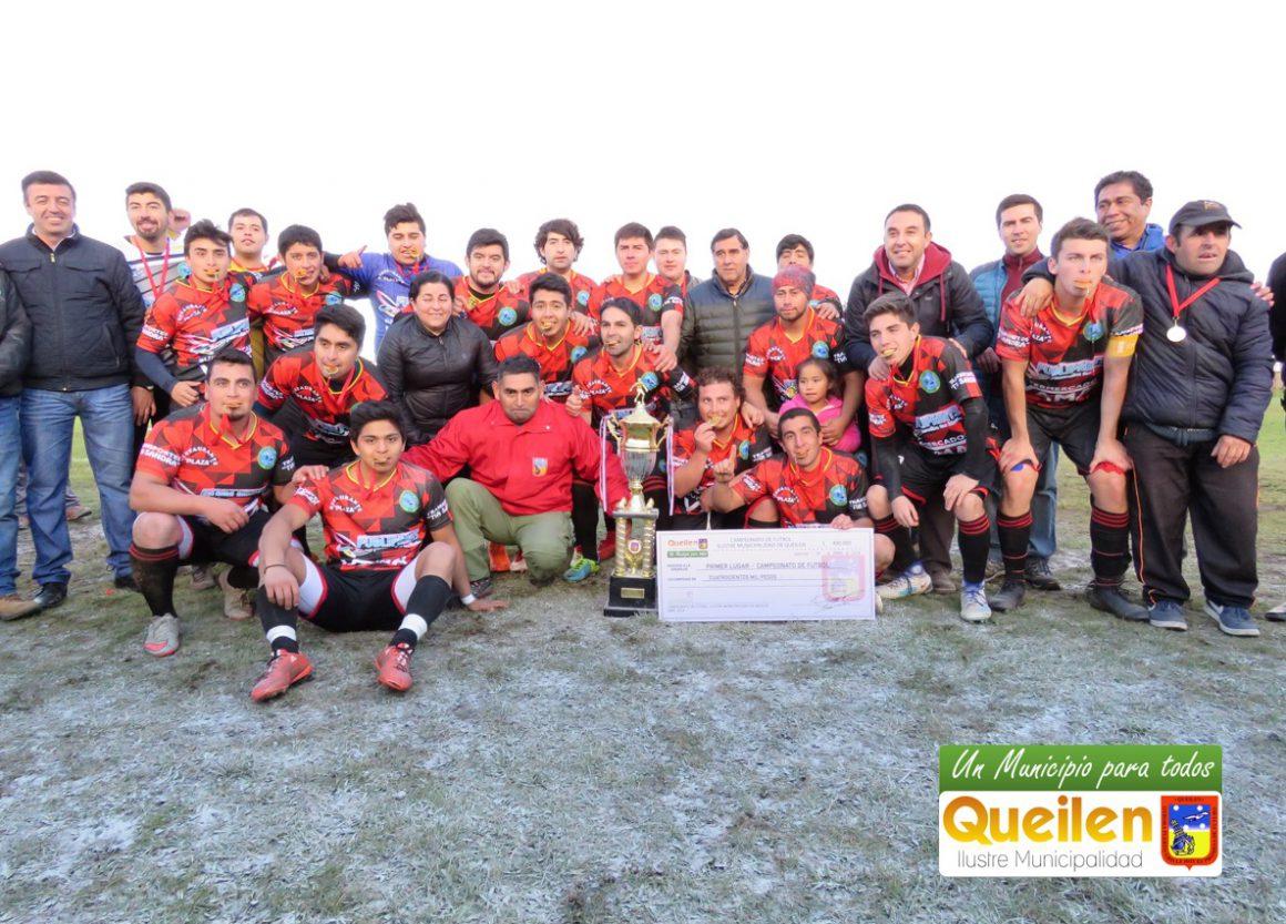 Deportivo Queilen es el nuevo Campeón del fútbol queilino.