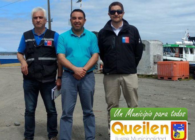 Más de 500 millones de pesos invertirá la Dirección de Obras Portuarias en Queilen