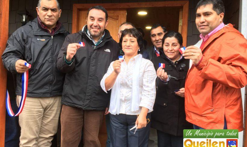 Inauguran nuevo centro comunitario para el sector de Paildad en Queilen
