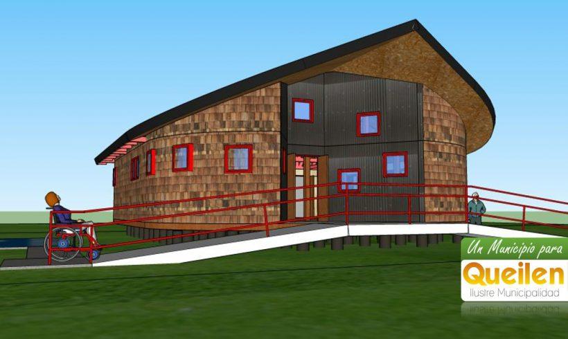 60 millones de pesos costará la nueva sede social de Leutepu en la isla Tranqui