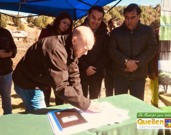460 millones de pesos costará nuevo sistema de captación de agua potable para la ciudad de Queilen.