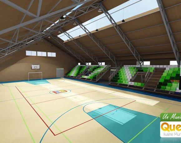 361 millones de pesos costará el nuevo gimnasio de Queilen