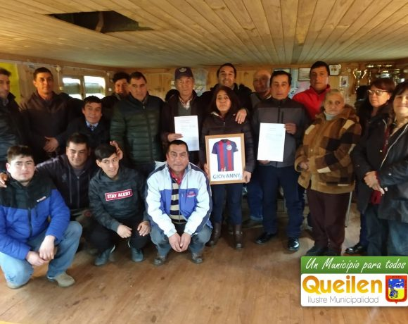 Municipalidad entregó título de dominio a Club Estero Queilen