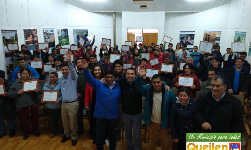 MUNICIPALIDAD DE QUEILEN ENTREGÓ 18 MILLONES DE PESOS PARA INICIATIVAS LOCALES