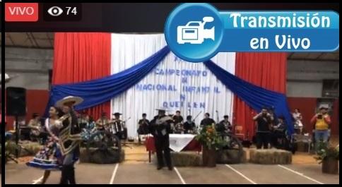 """CAMPEONATO NACIONAL DE CUECA """"MINI INFANTIL"""" QUEILEN 2019"""
