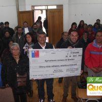 17 MILLONES DE PESOS RECIBIERON AGRICULTORES QUEILINOS