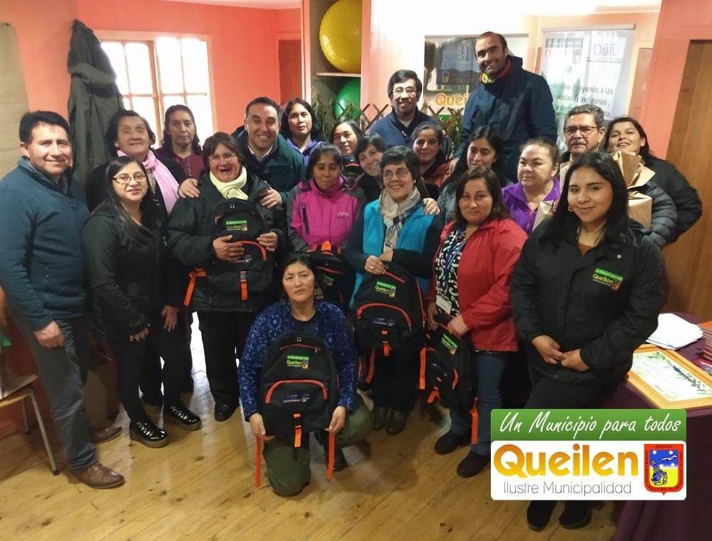 MUNICIPALIDAD DE QUEILEN REALIZÓ NOVEDOSO TALLER DE PLANTAS MEDICINALES