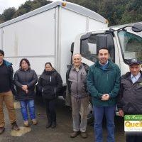 PESCADORES ARTESANALES DE QUEILEN CUENTAN CON NUEVO CAMIÓN FRIGORÍFICO