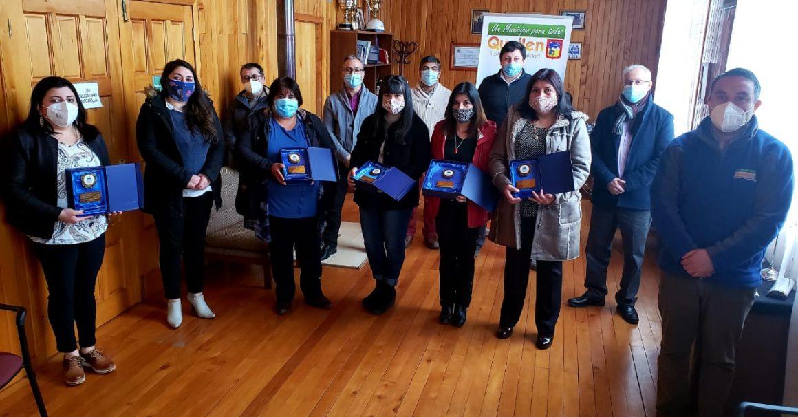 ALCALDE DE QUEILEN Y CORPORACIÓN MUNICIPAL RECONOCIERON A LOS ASISTENTES DE LA EDUCACIÓN EN SU DÍA