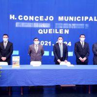 Alcalde Marcos Vargas asume por segunda vez el mando edilicio en Queilen