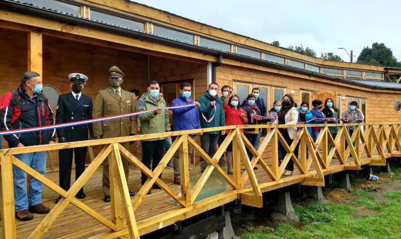 Nuevo Centro Comunitario de Aituy fue inaugurado en Queilen